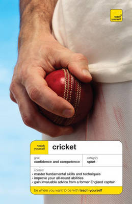 Teach Yourself Cricket by Mark Butcher image