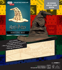IncrediBuilds: Harry Potter 3D Wood Model - Sorting Hat