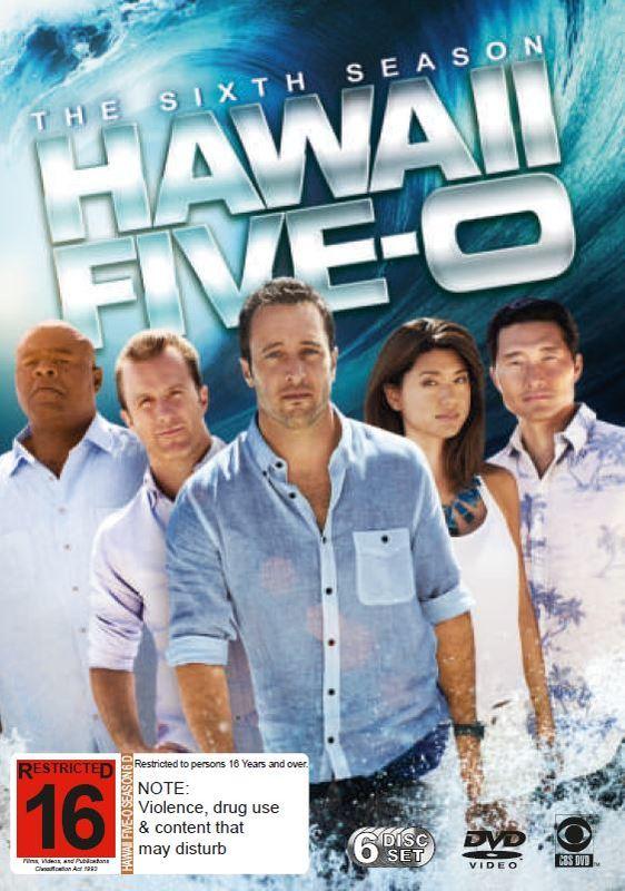 Hawaii Five-0 - Season 6 (6 Disc Set) on DVD