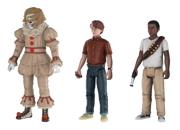 It (2017): Action Figure 3-Pack - Set #4