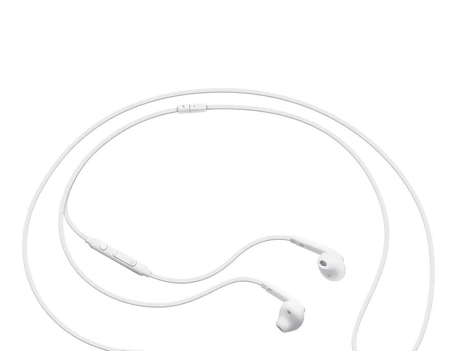 Samsung In-Ear Fit Earphones - White (EO-EG920BW) image