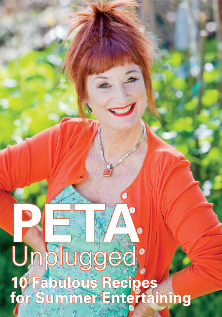 Peta Unplugged - 10 Fabulous Recipes for Summer Entertaining on DVD