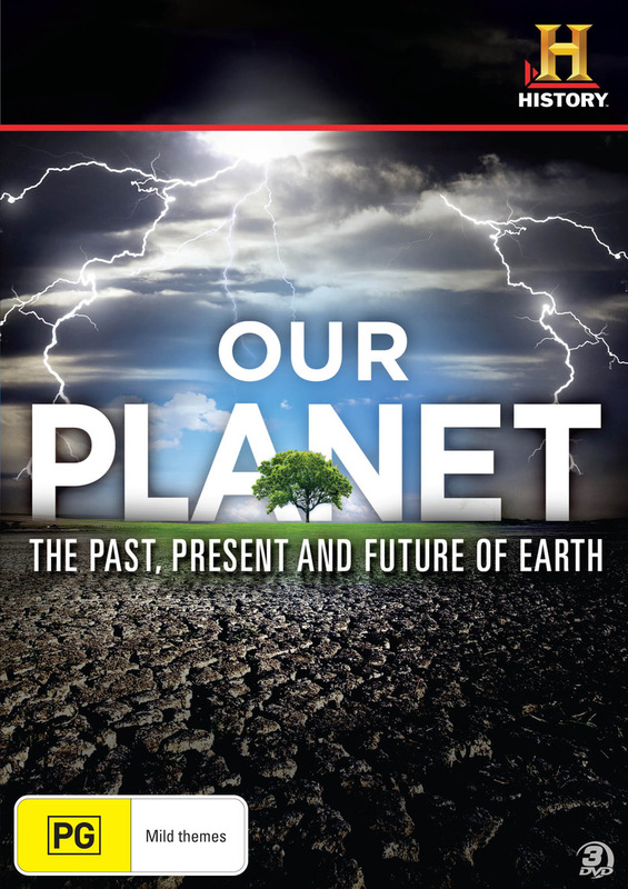 Our Planet: Past, Present, Future on DVD