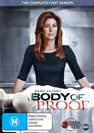 Body of Proof - The Complete 1st Season on DVD