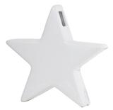 General Eclectic Star Vase - Matte White
