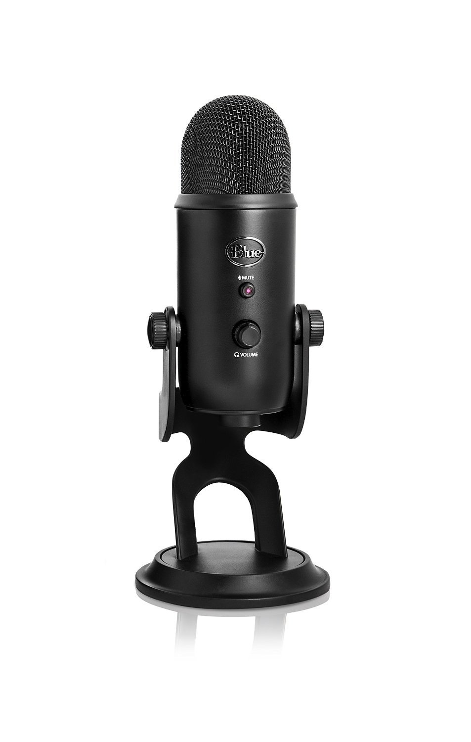 Blue Microphones Yeti Multi-Pattern USB Microphone (Blackout Edition) for  image