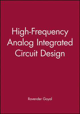 High-Frequency Analog Integrated Circuit Design by Ravender Goyal image