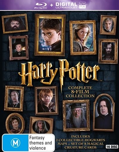 Harry Potter Book Box Set Australia : Harry potter complete film collection blu ray buy