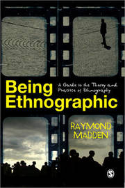 Being Ethnographic by Raymond Madden image