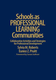 Schools as Professional Learning Communities by Sylvia M. Roberts image