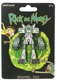 Rick & Morty - Snowball Enamel Pin image