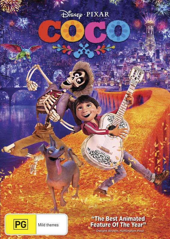 Coco (2017) on DVD