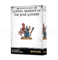 Warhammer Age of Sigmar Idoneth Deepkin: Lotann, Warden of the Soul Ledgers