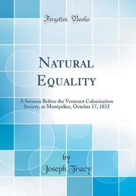 Natural Equality by Joseph Tracy image