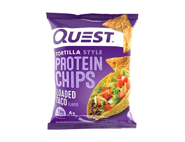 Quest Nutrition: Tortilla Style Protein Chips - Loaded Taco (32g)