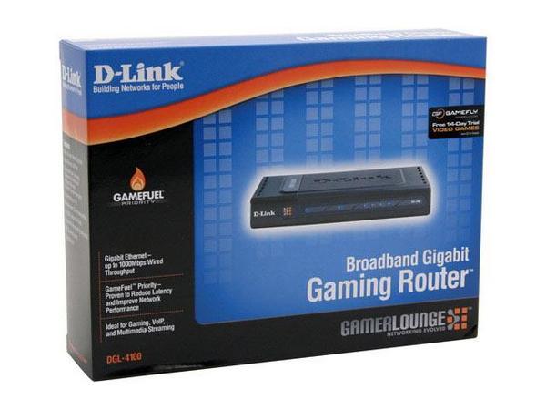 D-Link Broadband Gigabit Gaming Router DGL-4100 image