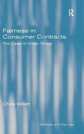 Fairness in Consumer Contracts by Chris Willett