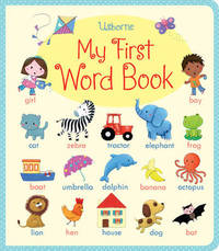 My First Word book by Felicity Brooks