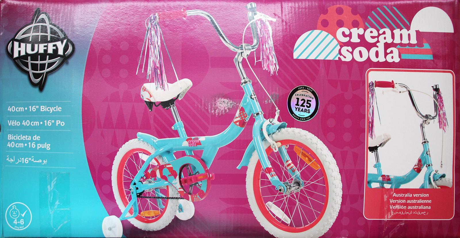 """Huffy: 16"""" Crème Soda - Girls Bike image"""