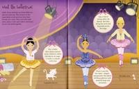 Sticker Dolly Dressing: Ballerinas by Fiona Watt image