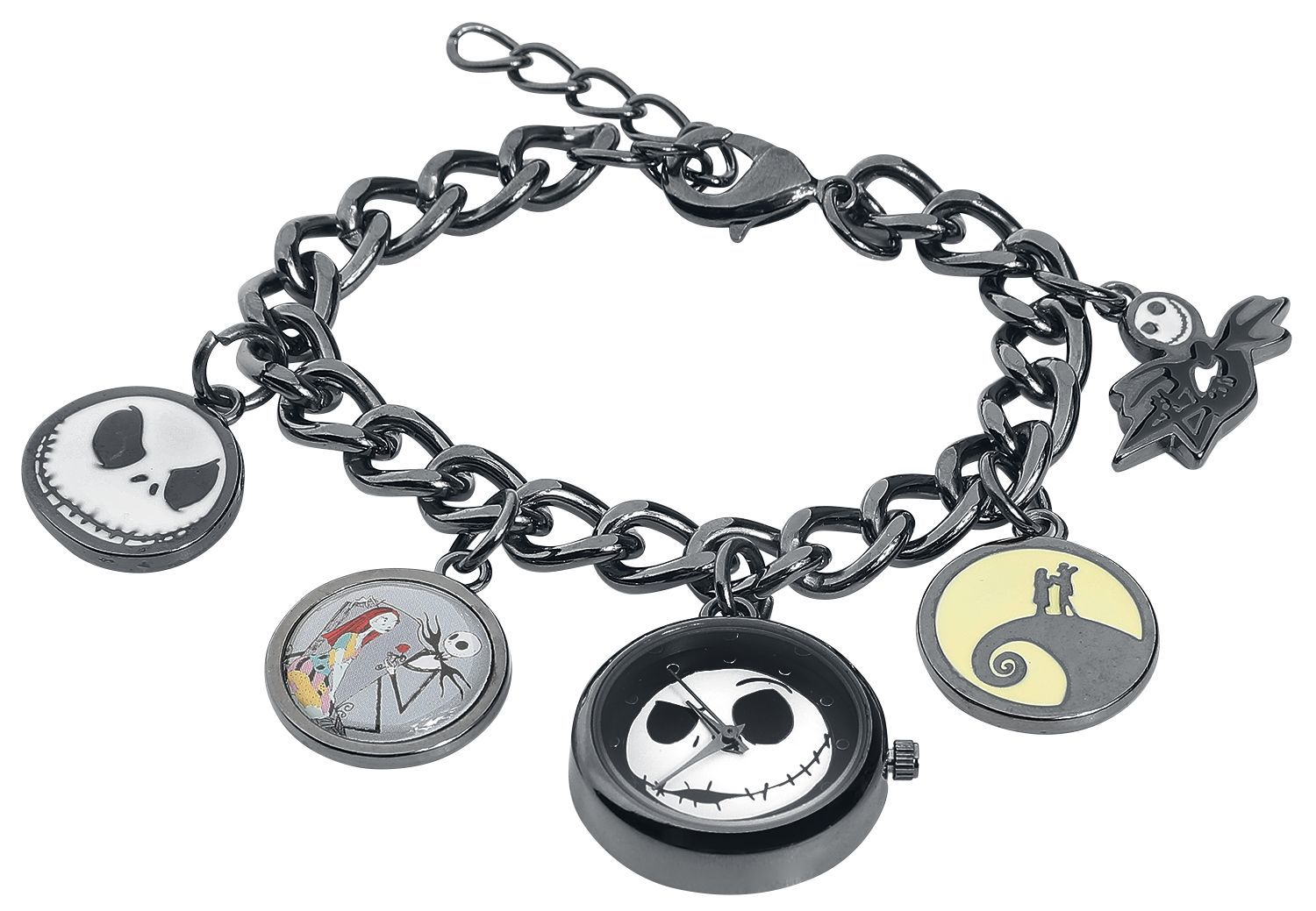 The Nightmare Before Christmas Watch Charm Bracelet Men S At Mighty Ape Nz