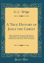 A True History of Jesus the Christ by G C Briggs image