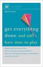 Get Everything Done by Mark Forster image