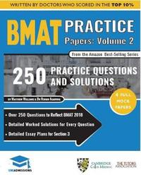 BMAT Practice Papers Volume 2 by Rohan Agarwal image