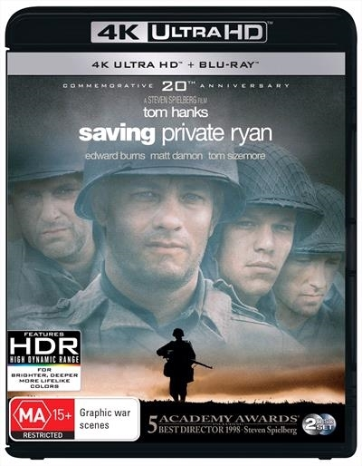 Saving Private Ryan on UHD Blu-ray