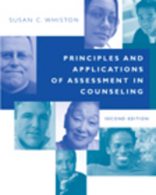 Principles and Applications of Assessment in Counseling by Susan Whiston (Indiana University) image
