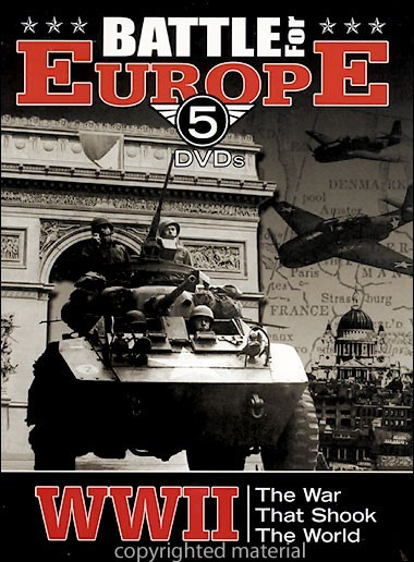 World War II Battle For Europe (5 Disc Set) on DVD