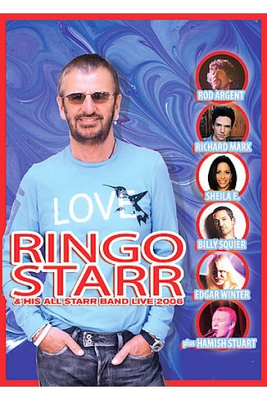 ringo starr his all starr band live 2006 dvd buy now at mighty ape nz. Black Bedroom Furniture Sets. Home Design Ideas