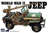 MPC World War II Military Jeep 1/25 Model Kit