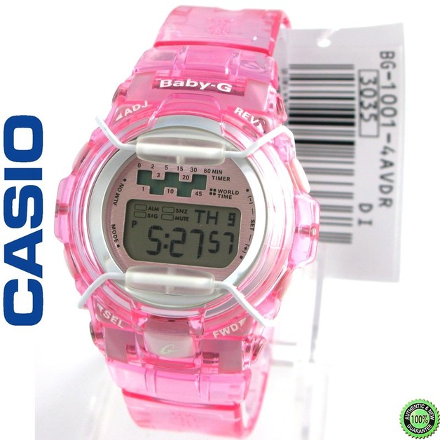 4653a1d0e Casio Baby-G Jelly Pink Watch | Women's | at Mighty Ape NZ