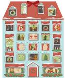 Forest Friends Christmas House Advent Calendar by Quill And Fox