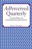 Asperceived Vol 1 Number 2 by Adam Christie