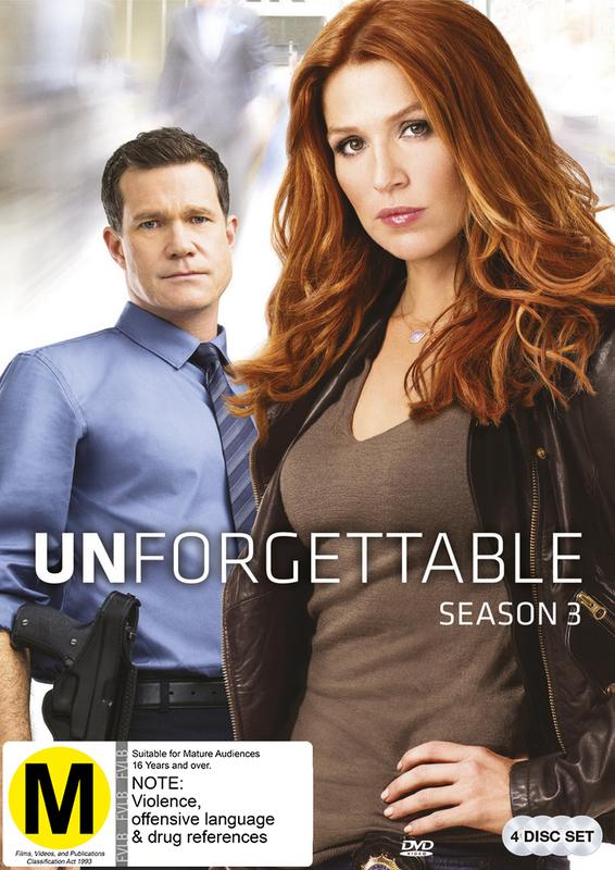 Unforgettable - Season 3 on DVD