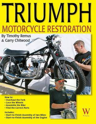 Triumph Motorcycle Restoration by Timothy Remus image