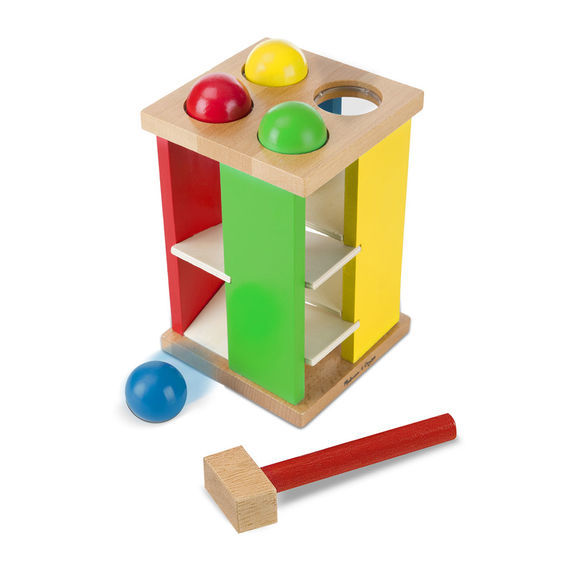 Melissa & Doug: Wooden Pound and Roll Tower image