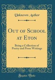 Out of School at Eton by Unknown Author image