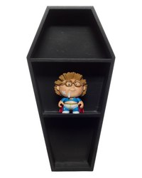 Sourpuss Coffin Shelf - Black