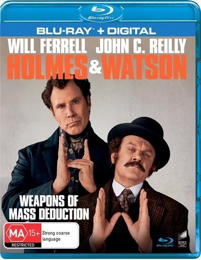 Holmes And Watson on Blu-ray