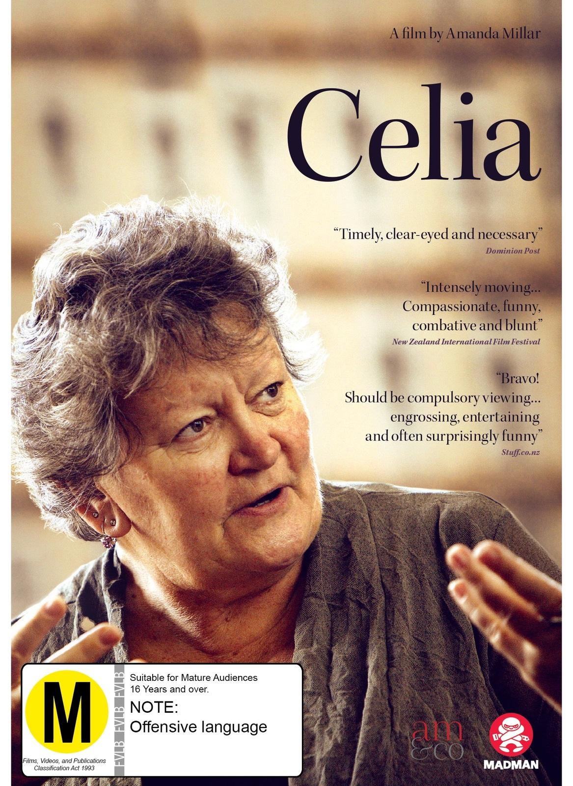 Celia on DVD image
