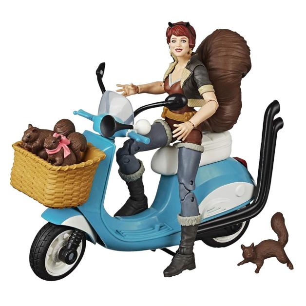Marvel Legends: The Unbeatable Squirrel Girl - Vehicle Figure Set