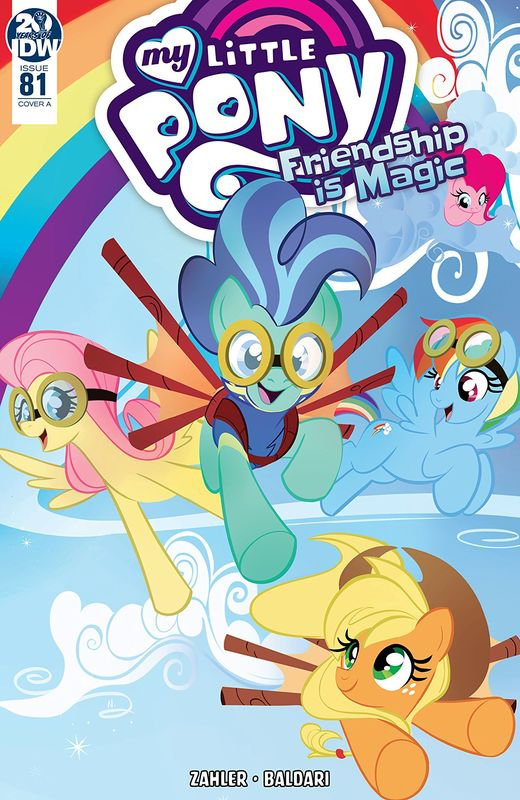 \My Little Pony: Friendship Is Magic - #81 (Cover A) by Thom Zahler
