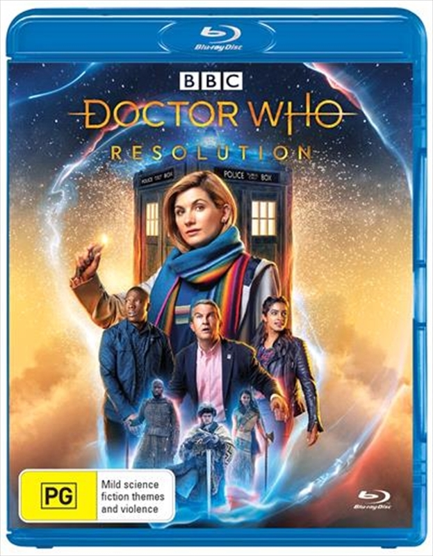 Doctor Who: Resolution (2019 Special) on Blu-ray