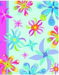 Funky Flora Mini Journal by . journal image