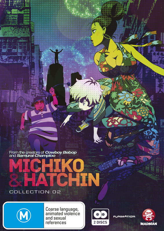 Michiko & Hatchin - Collection 02 (2 Disc Set) on DVD