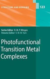 Photofunctional Transition Metal Complexes