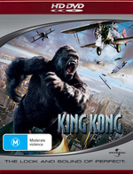 King Kong on HD DVD